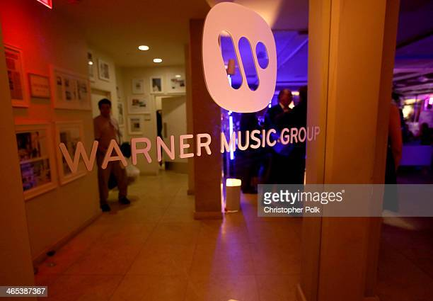 A general view of atmosphere at the Warner Music Group annual GRAMMY celebration on January 26 2014 in Los Angeles California