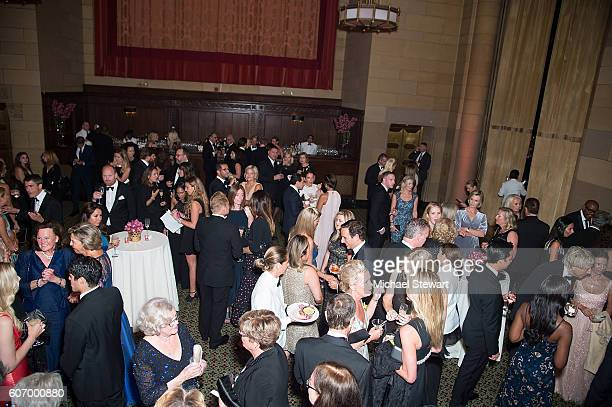A general view of atmosphere at the World Childhood Foundation USA Thank You Gala 2016 at Cipriani 42nd Street on September 16 2016 in New York City