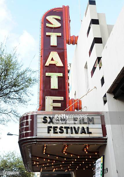 A general view of atmosphere at the World Premiere of '21 Jump Street' during the 2012 SXSW Music Film Interactive Festival at Paramount Theater on...