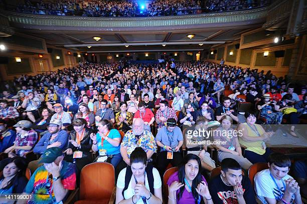 A general view of atmosphere at the World Premiere of 21 Jump Street during the 2012 SXSW Music Film Interactive Festival at Paramount Theater on...