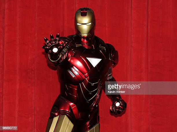 General view of atmosphere at the world premiere of Paramount Pictures and Marvel Entertainment's Iron Man 2� held at El Capitan Theatre on April 26...