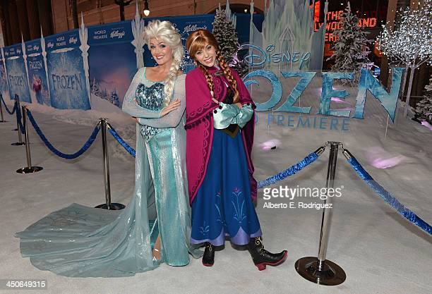 A general view of atmosphere at The World Premiere of Walt Disney Animation Studios' Frozen at El Capitan Theatre on November 19 2013 in Los Angeles...