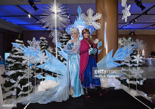 A general view of atmosphere at The World Premiere of Walt Disney Animation Studios' Frozen After Party on November 19 2013 in Los Angeles California