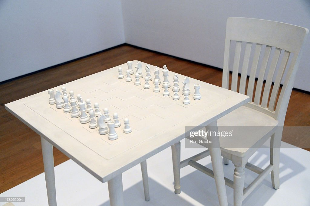 A general view of atmosphere at the Yoko Ono: One Woman Show, 1960-1971 at Museum of Modern Art on May 12, 2015 in New York City.