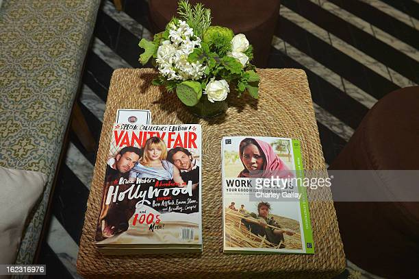 "A general view of atmosphere at Vanity Fair and the Fiat brand Celebration of ""Una Notte Verde"" with Hans Zimmer and Ron Howard in support of The..."