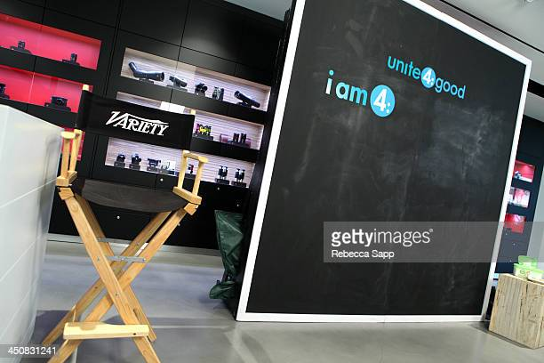 General view of atmosphere at Variety Awards Studio Day 1 at the Leica Gallery and Store on November 20 2013 in West Hollywood California