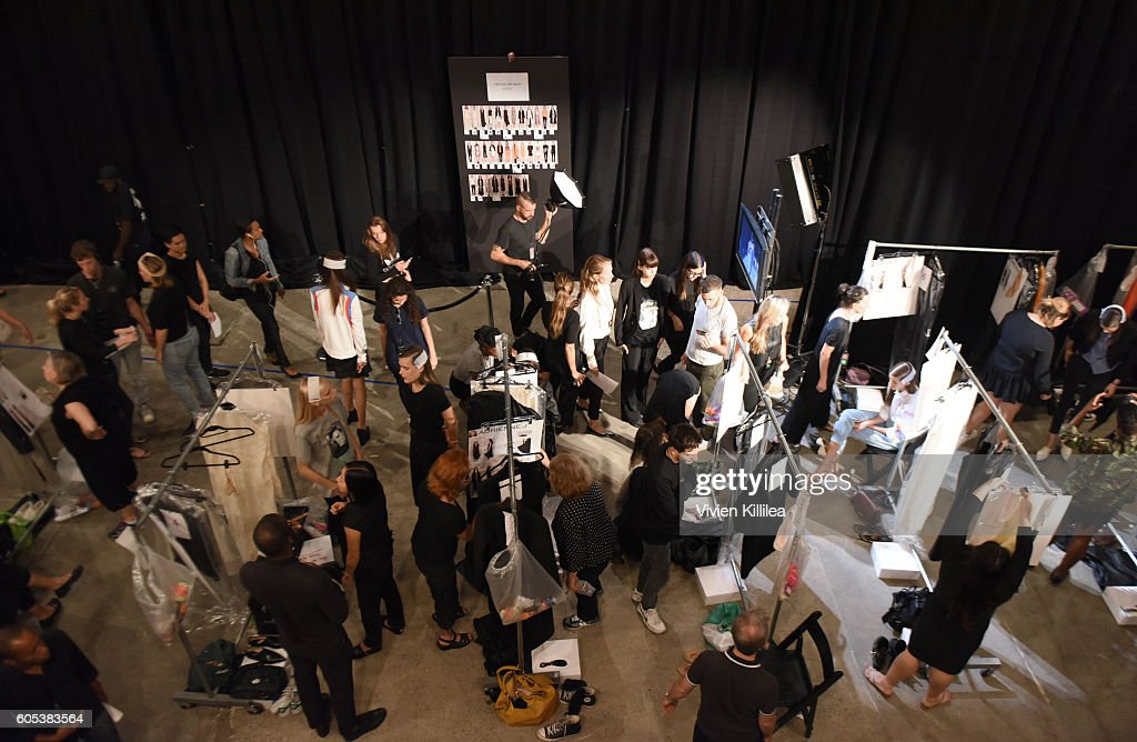 NY: Narciso Rodriguez - Backstage - September 2016 - New York Fashion Week