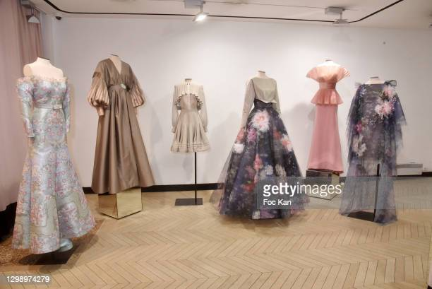 General view of atmosphere during Alexis Mabille: 2nd Day of Presentation - Haute Couture Spring/Summer 2021 Collection - Paris Fashion Week on...