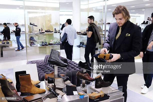 General view of atmosphere during Artisan Day hosted by Barneys New York at the Madison Avenue Flagship on October 22 2016 in New York City
