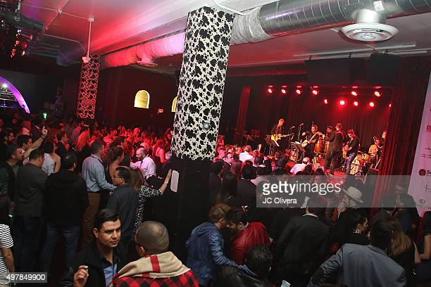 General view of atmosphere during ASCAP BMI SESAC LOS PRODUCERS Charity Concert Gala at Fremont Country Club on November 18 2015 in Las Vegas Nevada
