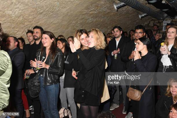 A general view of atmosphere during 'Attachiante' Chanez Concert and Birthday Party at Sentier des Halles Club on May 2 2017 in Paris France