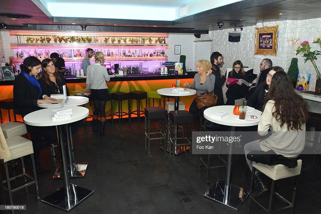 A general view of atmosphere during attend the 'Meetic' Dating Party at the Mojito Club on February 5, 2013 in Paris, France.
