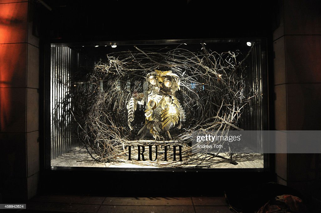 "Barneys New York ""Baz Dazzled"" Holiday Window Unveiling : News Photo"