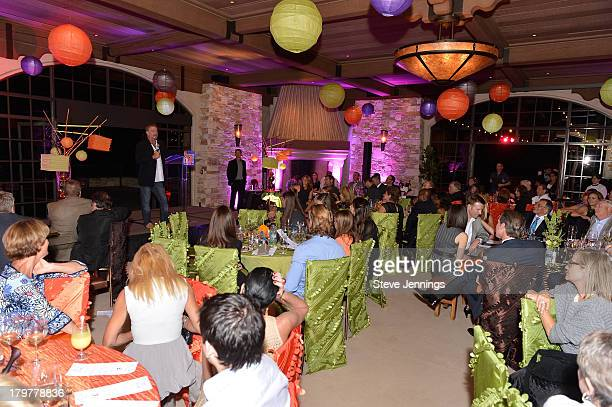 A general view of atmosphere during Best Buddies Challenge Hearst Castle Kickoff Reception Hosted by Maria Shriver at Tehama Golf Club on September 6...