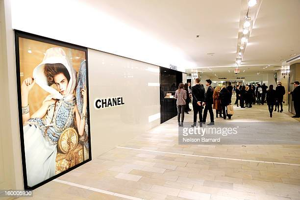 513f3330fdb0cb A general view of atmosphere during Bloomingdale's celebration of the newly  renovated Chanel RTW Boutique at