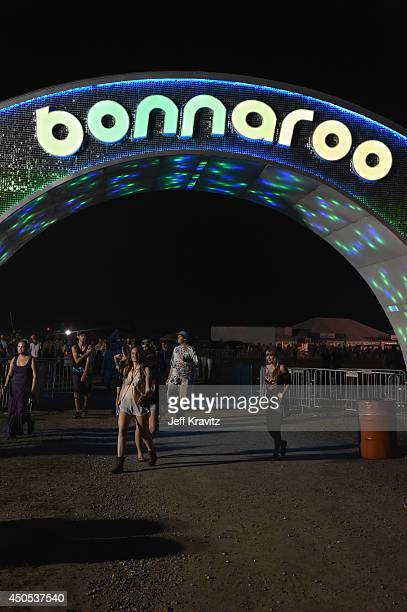 General view of atmosphere during day 1 of the 2014 Bonnaroo Arts And Music Festival on June 12 2014 in Manchester Tennessee
