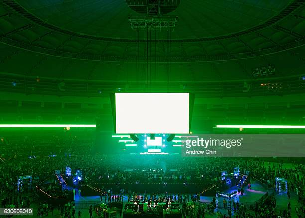 A general view of atmosphere during day 2 of Contact Winter Music Festival 2016 at BC Place on December 27 2016 in Vancouver Canada