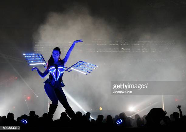 A general view of atmosphere during day 2 of Contact Winter Music Festival 2017 at BC Place on December 27 2017 in Vancouver Canada