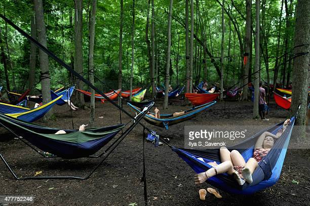 General view of atmosphere during day 2 of the Firefly Music Festival on June 19, 2015 in Dover, Delaware.