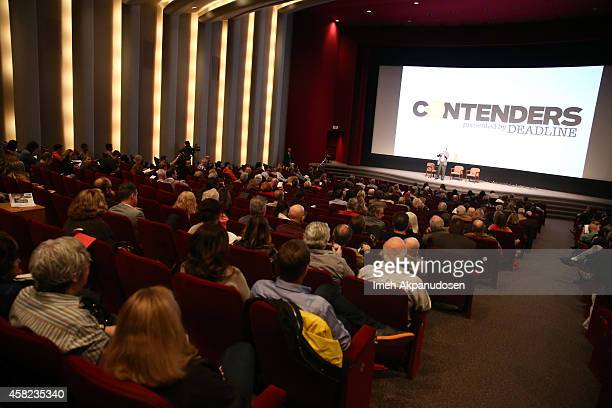 A general view of atmosphere during Deadline's The Contenders at DGA Theater on November 1 2014 in Los Angeles California