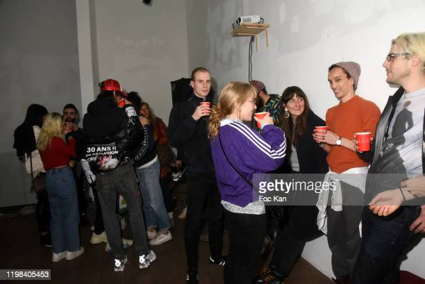 A general view of atmosphere during «Deform Scan» Premiere Exhibition Preview at Galerie W Landeau on January 8 2020 in Paris France