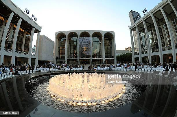 A general view of atmosphere during Fashion's Night Out The Show at Lincoln Center on September 7 2010 in New York City