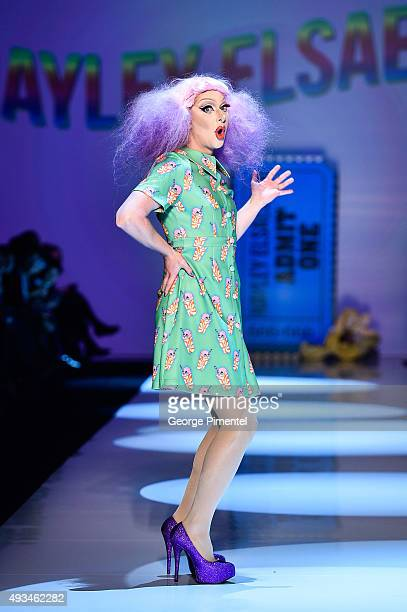 A general view of atmosphere during Hayley Elsaesser spring 2016 collection during World MasterCard Fashion Week Spring 2016 at David Pecaut Square...