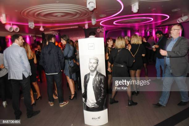 A general View of atmosphere during 'Identik' by M Pokora Launch Party at Duplex Club on September 17 2017 in Paris France