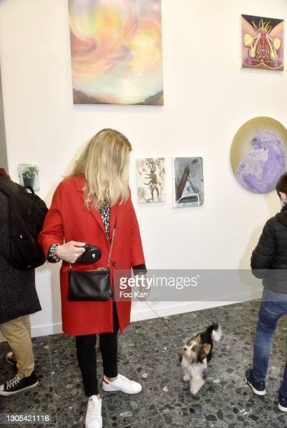 """General view of atmosphere during """"Ils Ont Dit Oui"""" Exhibition an Amalteo Institute Project Curated by Marc Molk at Galerie Marguerite Milin on March..."""