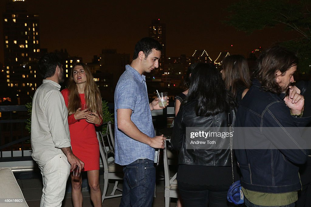 General view of atmosphere during Jamie Hince's 'Echo Home' Exhibition Opening after party at Soho Grand Hotel on June 10, 2014 in New York City.