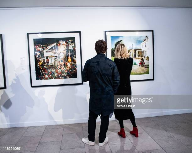 A general view of atmosphere during Masterplan25 The Oasis Photographs private view on November 21 2019 in London England