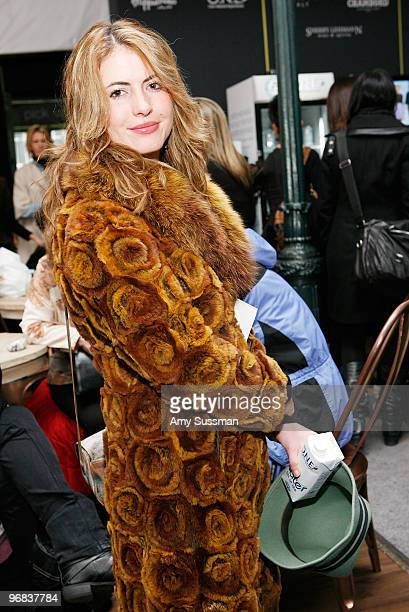 A general view of atmosphere during MercedesBenz Fashion Week presented by Tetra Pak ONE at The Salon at Bryant Park on February 18 2010 in New York...