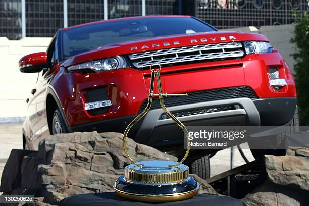A general view of atmosphere during Motor Trend's 2012 Sport/Utility of The Year Award for the allnew 2012 Range Rover Evoque on October 25 2011 in...