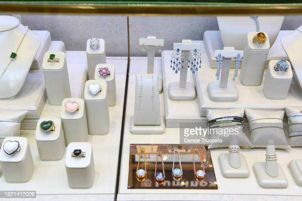General view of atmosphere during Orianne Collins' OC Wonders Collection showcase at Berger & Son Fine Jewelers at Fashion Show Las Vegas on June 02,...