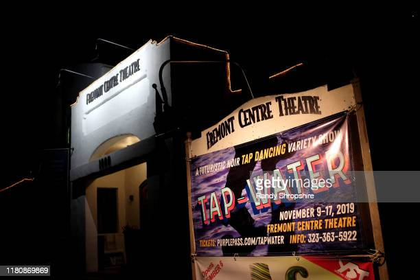 A general view of atmosphere during rehearsal of Tapwater on stage at Fremont Centre Theatre on November 07 2019 in Pasadena California