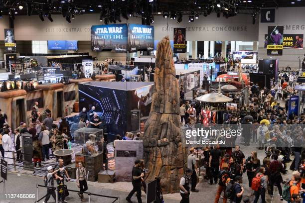 General view of atmosphere during Star Wars Celebration at McCormick Place Convention Center on April 15, 2019 in Chicago, Illinois.