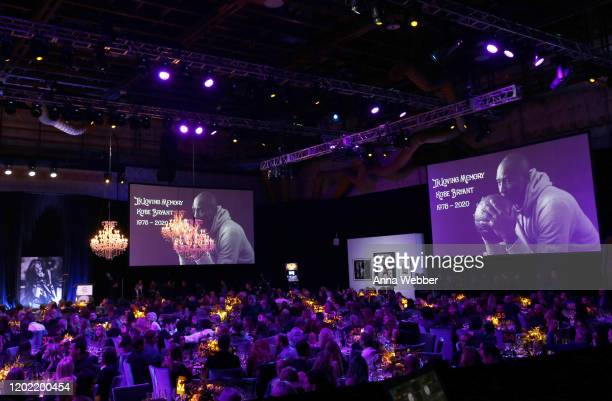 A general view of atmosphere during Steven Tyler's Third Annual GRAMMY Awards Viewing Party to benefit Janie's Fund presented by Live Nation at...