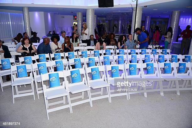 General view of Atmosphere during Tap The Future event with Daymond John at Nikki Beach on July 8 2014 in Miami Beach Florida