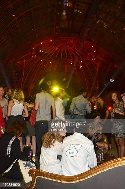 A general view of atmosphere during the '1 Million Intense' Paco Rabanne Perfume Launch and 'Boudoir Party By Club Chic' at the Grand Palais on June...