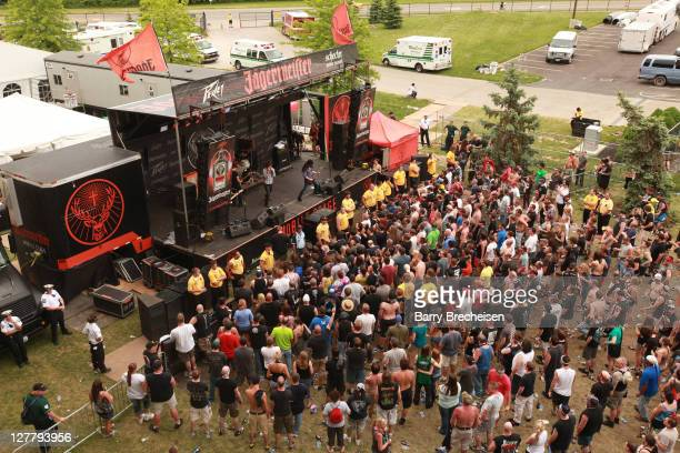 A general view of atmosphere during the 2011 Rock On The Range festival at Crew Stadium on May 22 2011 in Columbus Ohio