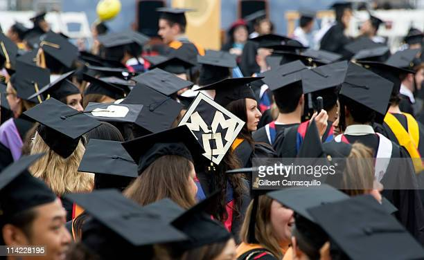 A general view of atmosphere during the 2011 University Of Pennsylvania Commencement at the University of Pennsylvania on May 16 2011 in Philadelphia...