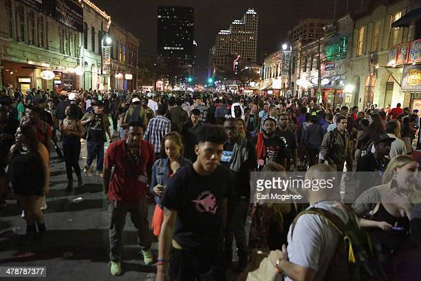 General view of atmosphere during the 2014 SXSW Music, Film + Interactive Festival on March 14, 2014 in Austin, Texas.