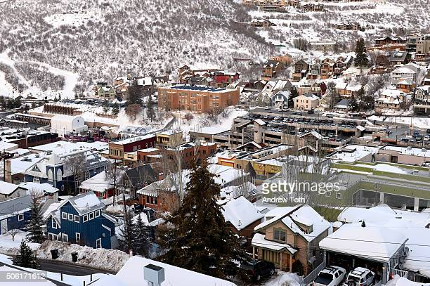 A general view of atmosphere during the 2016 Sundance Film Festival on January 21 2016 in Park City Utah