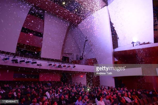 A general view of atmosphere during the 2019 Streamys Premiere Awards at The Broad Stage on December 11 2019 in Santa Monica California