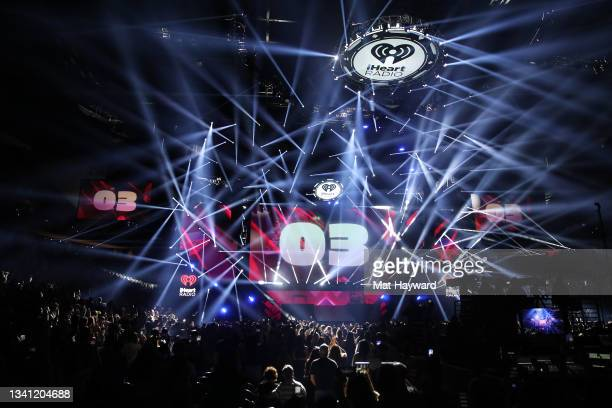 General view of atmosphere during the 2021 iHeartRadio Music Festival at T-Mobile Arena on September 18, 2021 in Las Vegas, Nevada.