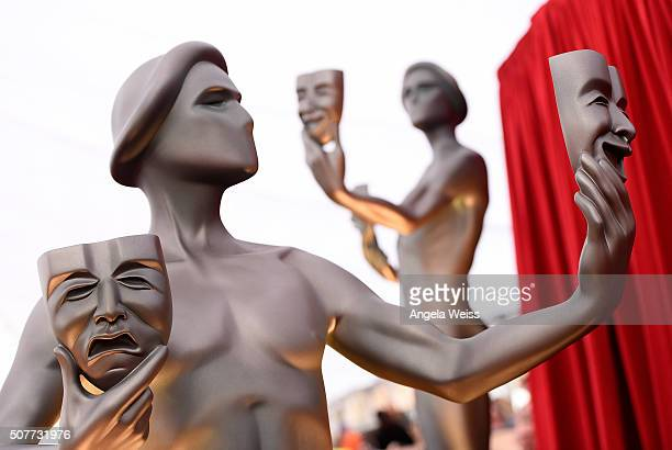 A general view of atmosphere during the 22nd Annual Screen Actors Guild Awards at The Shrine Auditorium on January 30 2016 in Los Angeles California