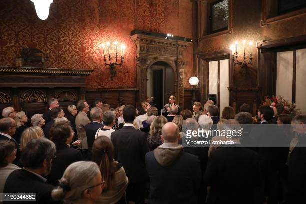 A general view of atmosphere during the 25esimo Museo Bagatti Valsecchi on November 26 2019 in Milan Italy