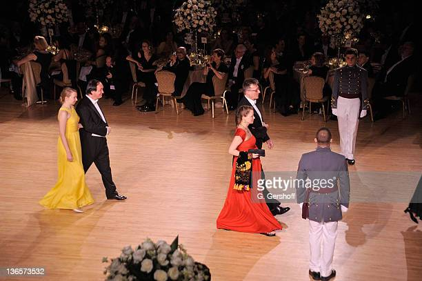 General view of atmosphere during the 56th annual Viennese Opera Ball at The Waldorf=Astoria on February 4, 2011 in New York City.