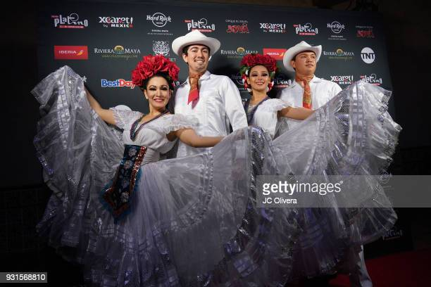 General view of atmosphere during the 5th Annual Premios PLATINO Of Iberoamerican Cinema Nominations Announcement at Hollywood Roosevelt Hotel on...