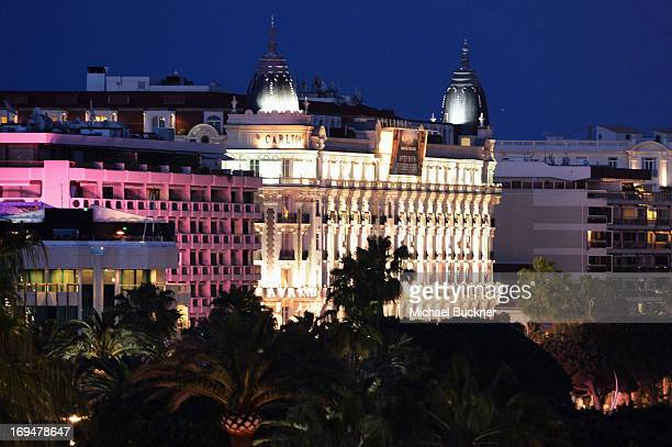 A general view of atmosphere during The 66th Annual Cannes Film Festival at the Palais des Festivals on May 25 2013 in Cannes France